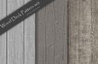 シルバーグレイのウッドデッキパネル素材3種類(シームレス・テクスチャ)