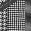 おしゃれなファブリック素材『千鳥格子』のフリーテクスチャ・シームレスパターン(CG)