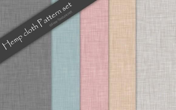 Hemp-Cloth-Pattern-set