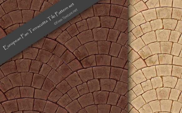 european-fan-terracotta-tile-pattern-set