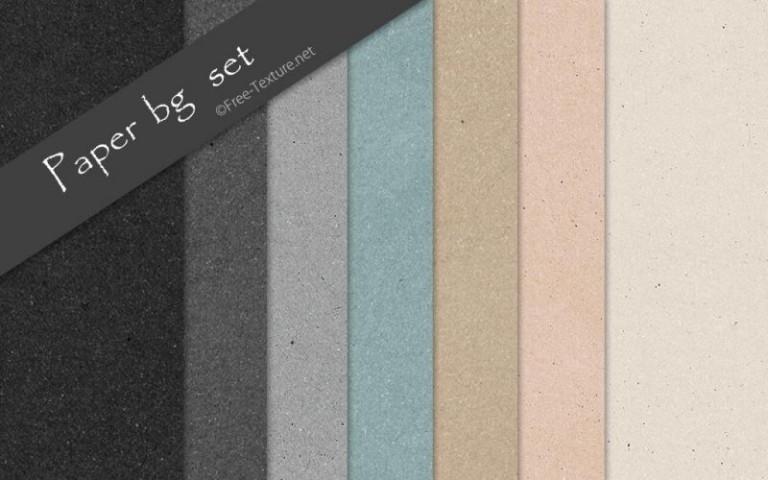 ナチュラルペーパーシームレスパターン素材7色セット(PHOTO)