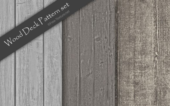 wood-deck-pattern-set